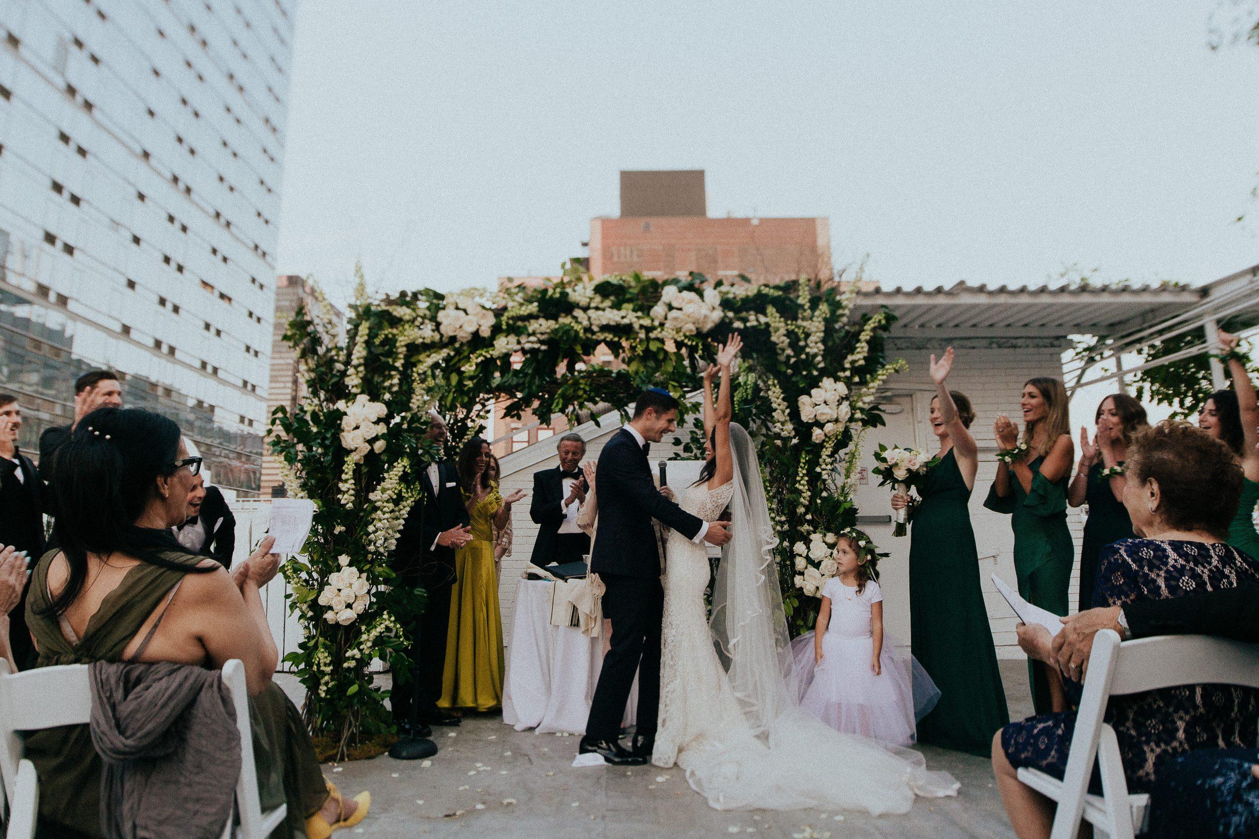 Lush NYC Loft Wedding