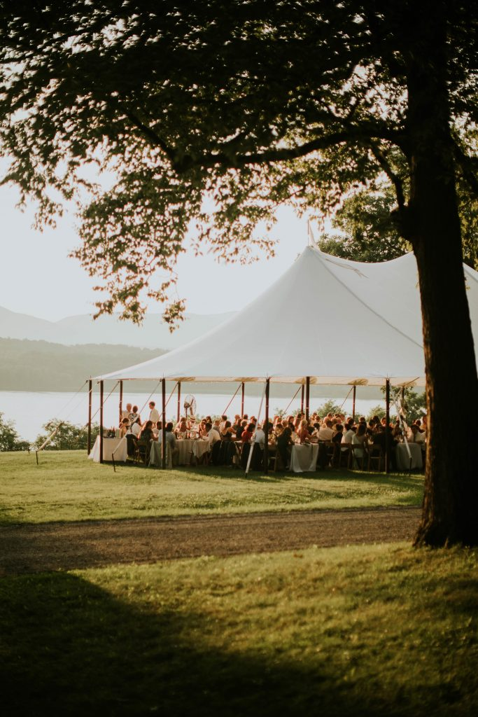 tent at southwood estate